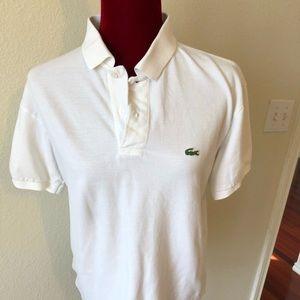 Lacoste shirt white